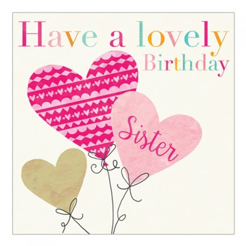 Have A Lovely Birthday Sister