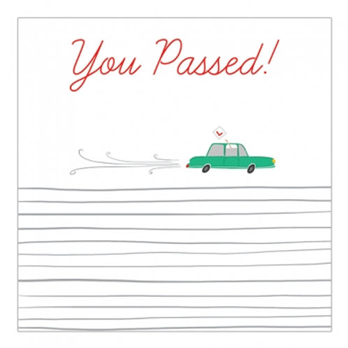 You Passed Card