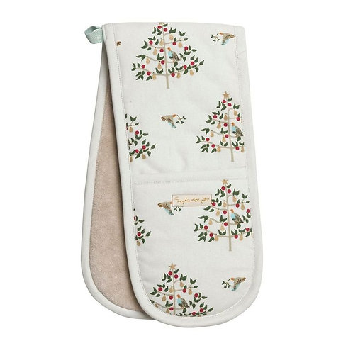 Partridge in a Pear Tree Double Oven Glove