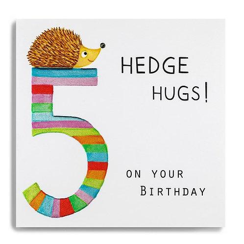 5 Hedge Hugs On Your Birthday