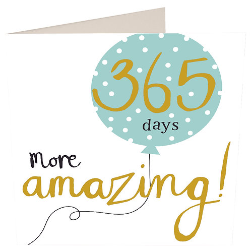 Hey You 365 Days More Amazing