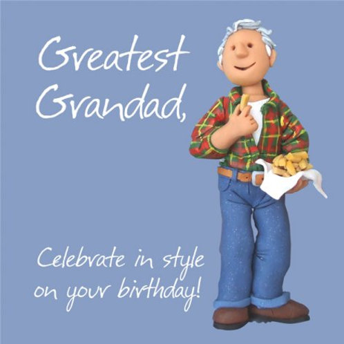 Greatest Grandad Card