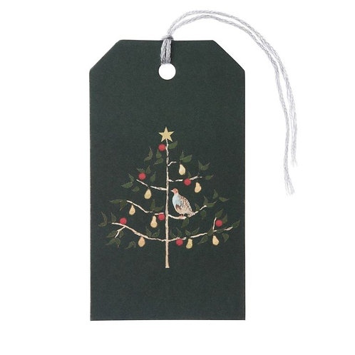 Partridge in a Pear Tree Gift Tags (Set of 8)
