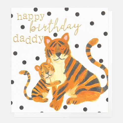 Happy Birthday Daddy Tiger
