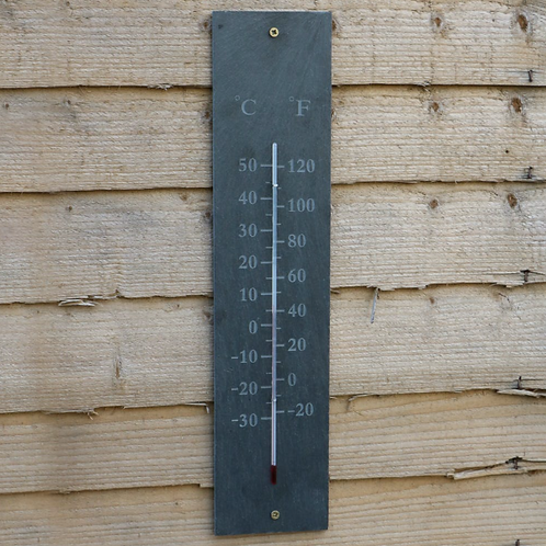 Slate Wall Thermometer