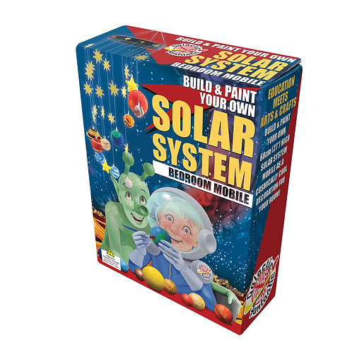 Build and Paint Your Own Solar System Bedroom Mobile - House of Marbles