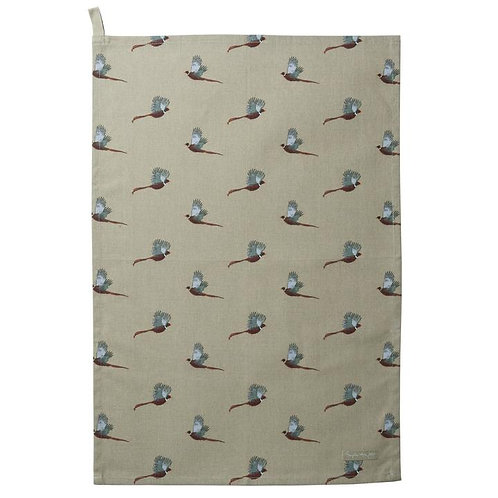 Sophie Allport 'Pheasant' Tea Towel