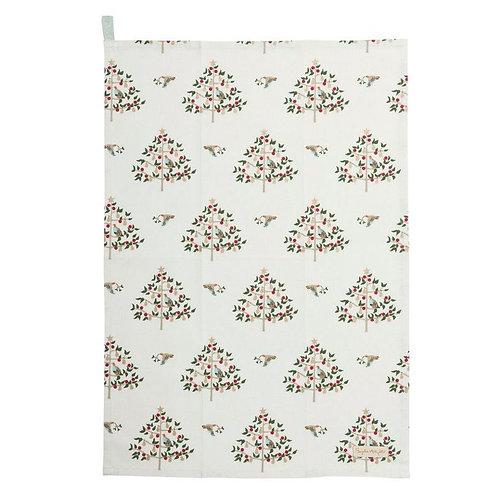 Partridge in a Pear Tree Tea Towel