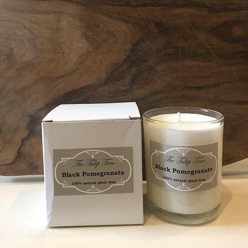 The Tulip Tree Large Natural Plant Wax Candle