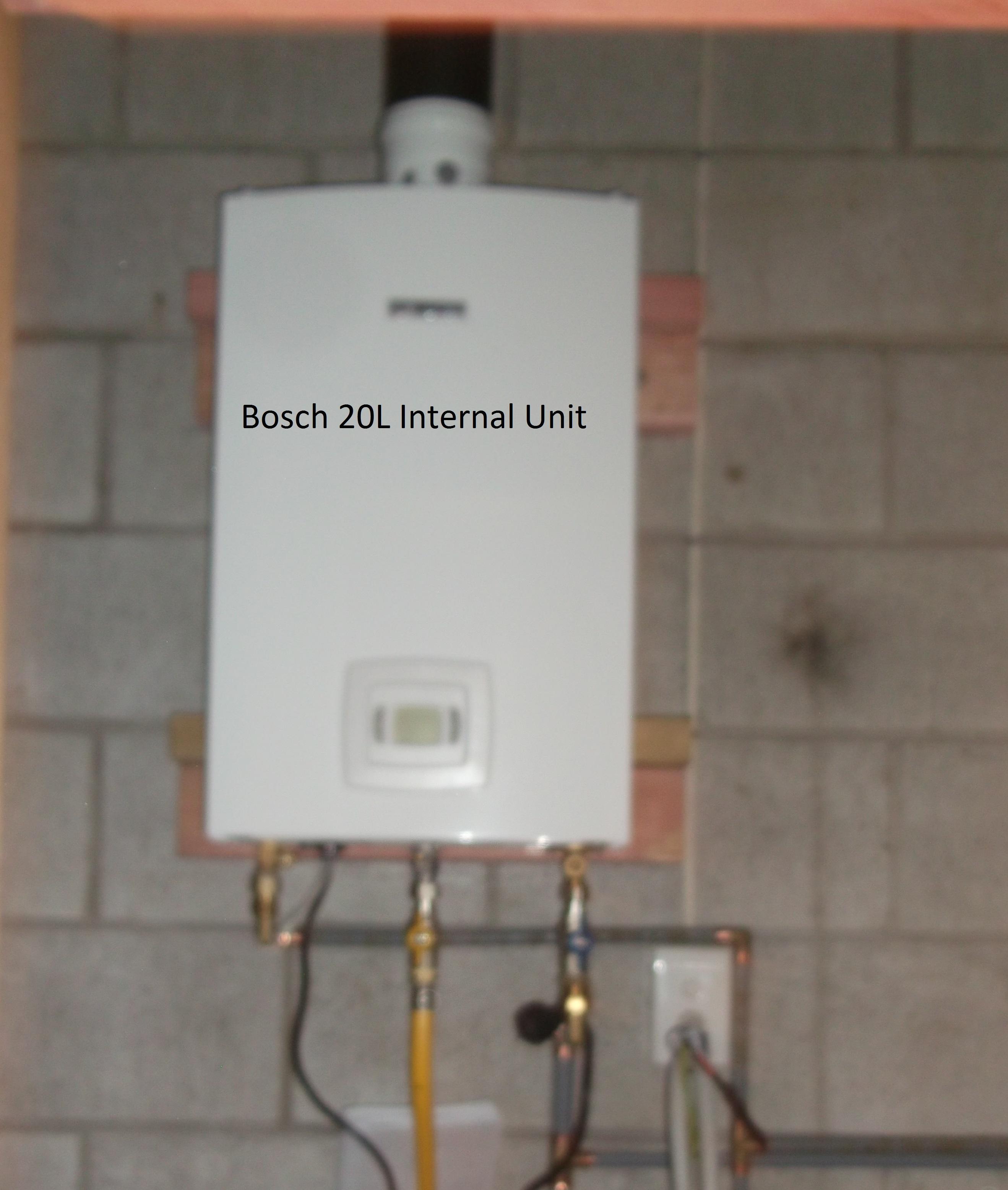 Bosch 20 litre Internal Califont