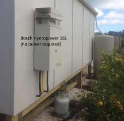 Grant connect up Bosch 16 litre to sleep