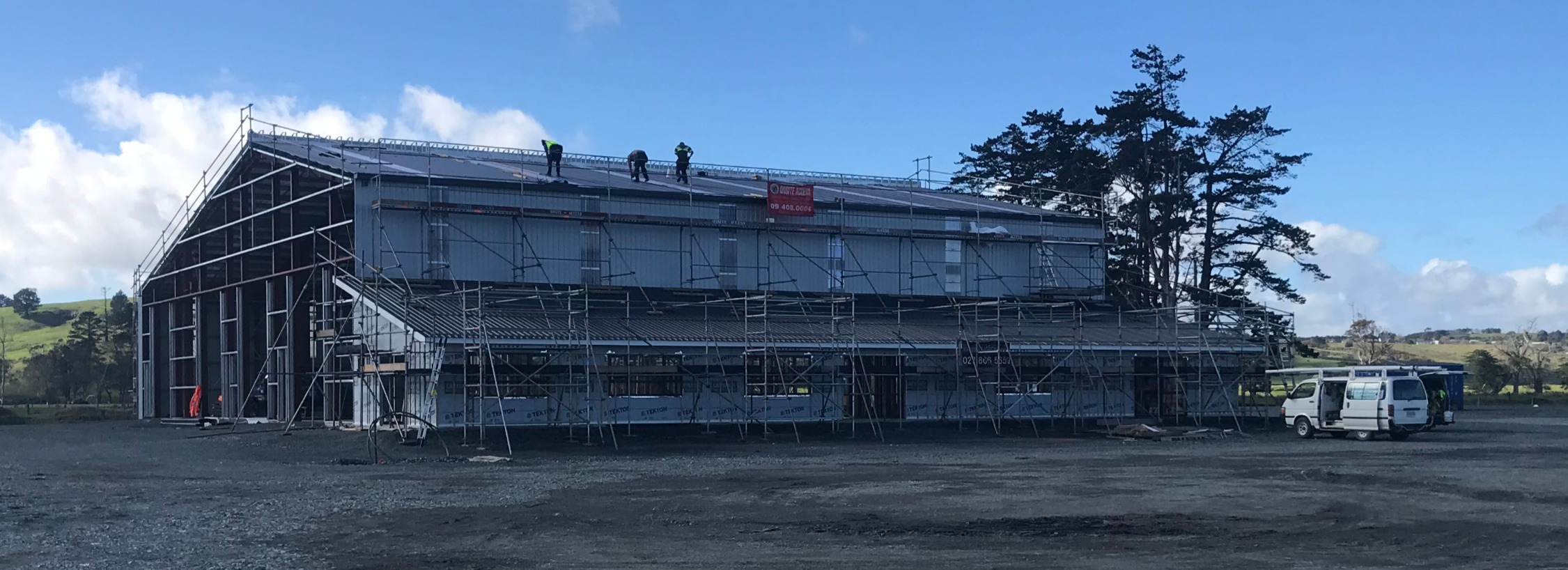 Installed roof & cladding
