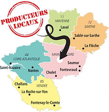 Des produits locaux au coeur de l'Anjou