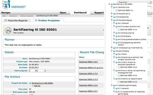 Energinet ISO 50001 Energiledelse EOS