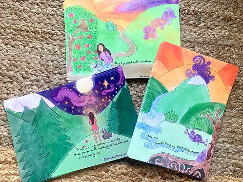 Mind Body Boost Postcard bundle
