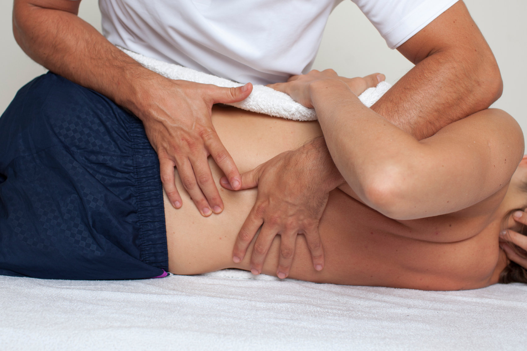 Osteopathy initial appointment