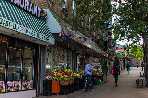 storefront in Jerome Gun Hill neighborhood