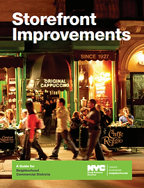 NYC SBS storefront improvement guide for businesses - link to PDF