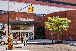 Montefiore Medcal Center entrance