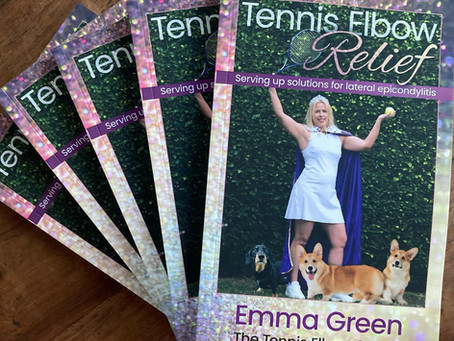 Tennis Elbow Relief with Emma Green featured podcast episode