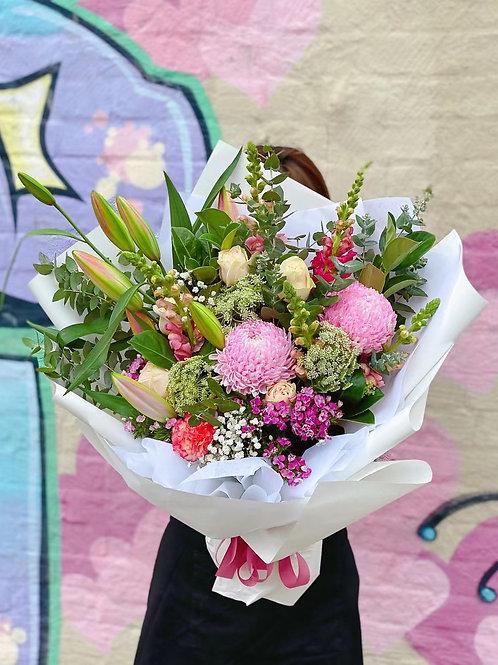 I got it to spoil my mum( pastel pink love big bunch)