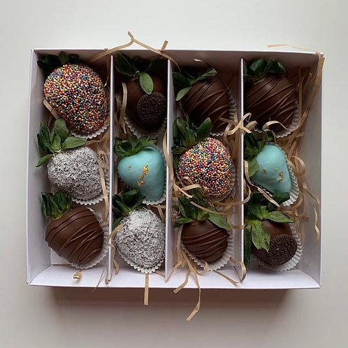 Dozen Chocolate Coated Strawberries