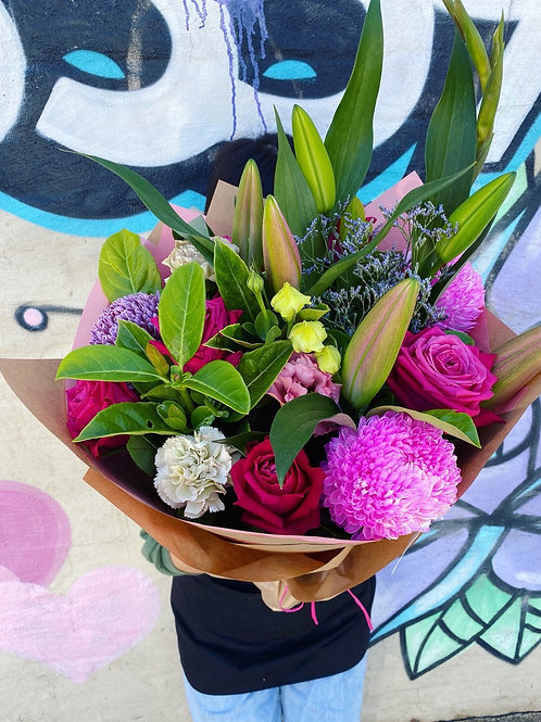 No stress signature Bouquet