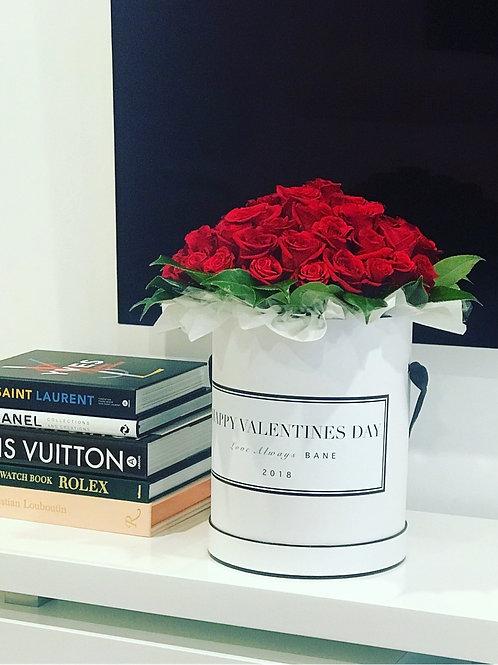 Custom Rose Box (30 Long Stems)