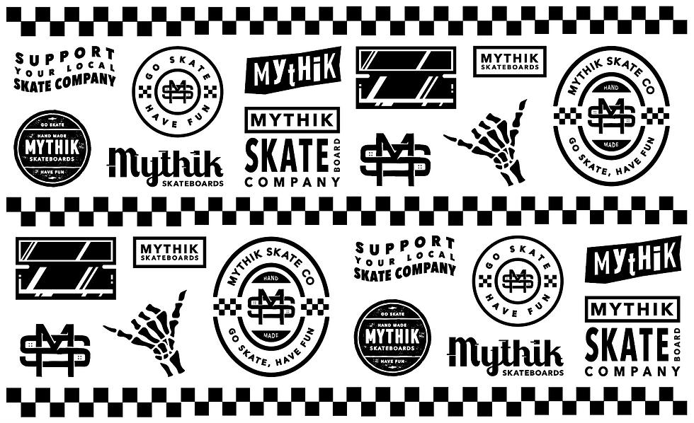 Mythik Sticker Sheet
