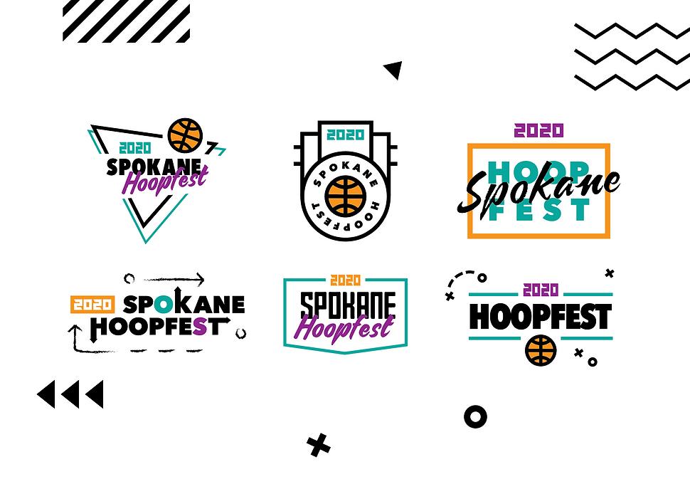Hoopfest 2020 Logos