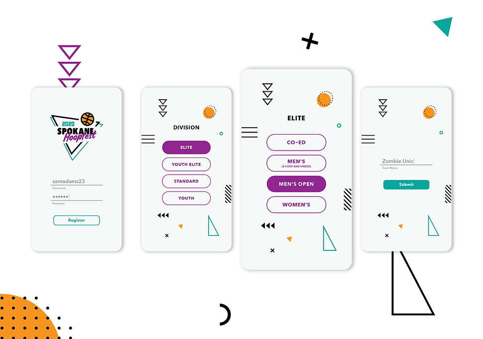 Hoopfest 2020 App Sign Up