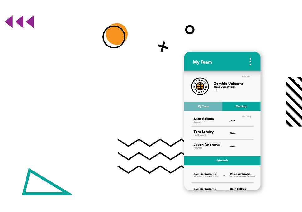Hoopfest 2020 App Home Screen