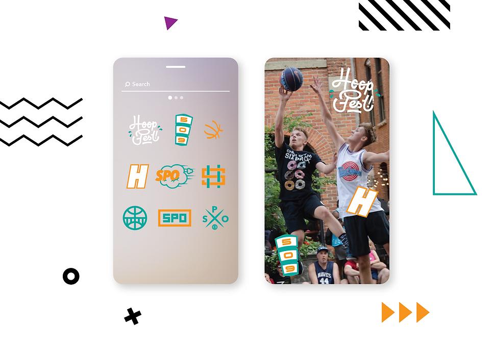 Hoopfest 2020 Sticker Gif