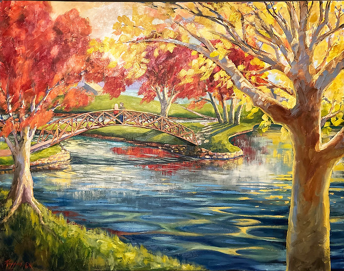48X60 Bridge at Country Place Revisited_