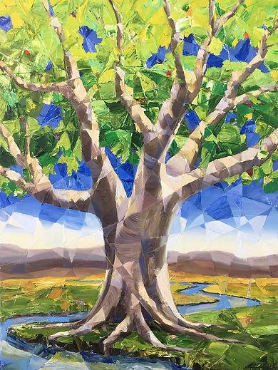 18x24 Jennifer Johnson Tree of Life $900