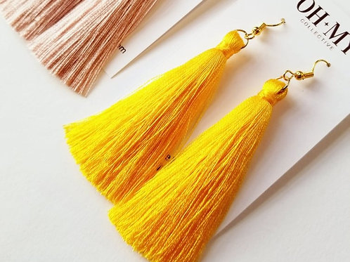 Sunlight silk tassels