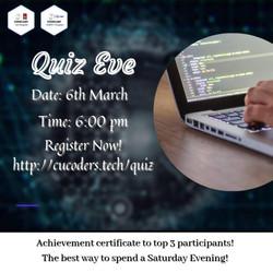 Quiz Eve Usha Mittal Institute Of Technology