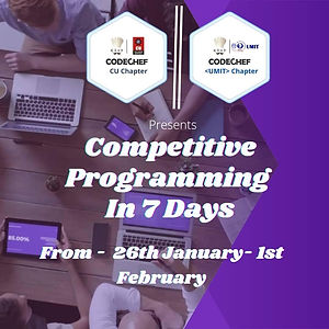 Competitive programming Usha Mittal Institute Of Technology