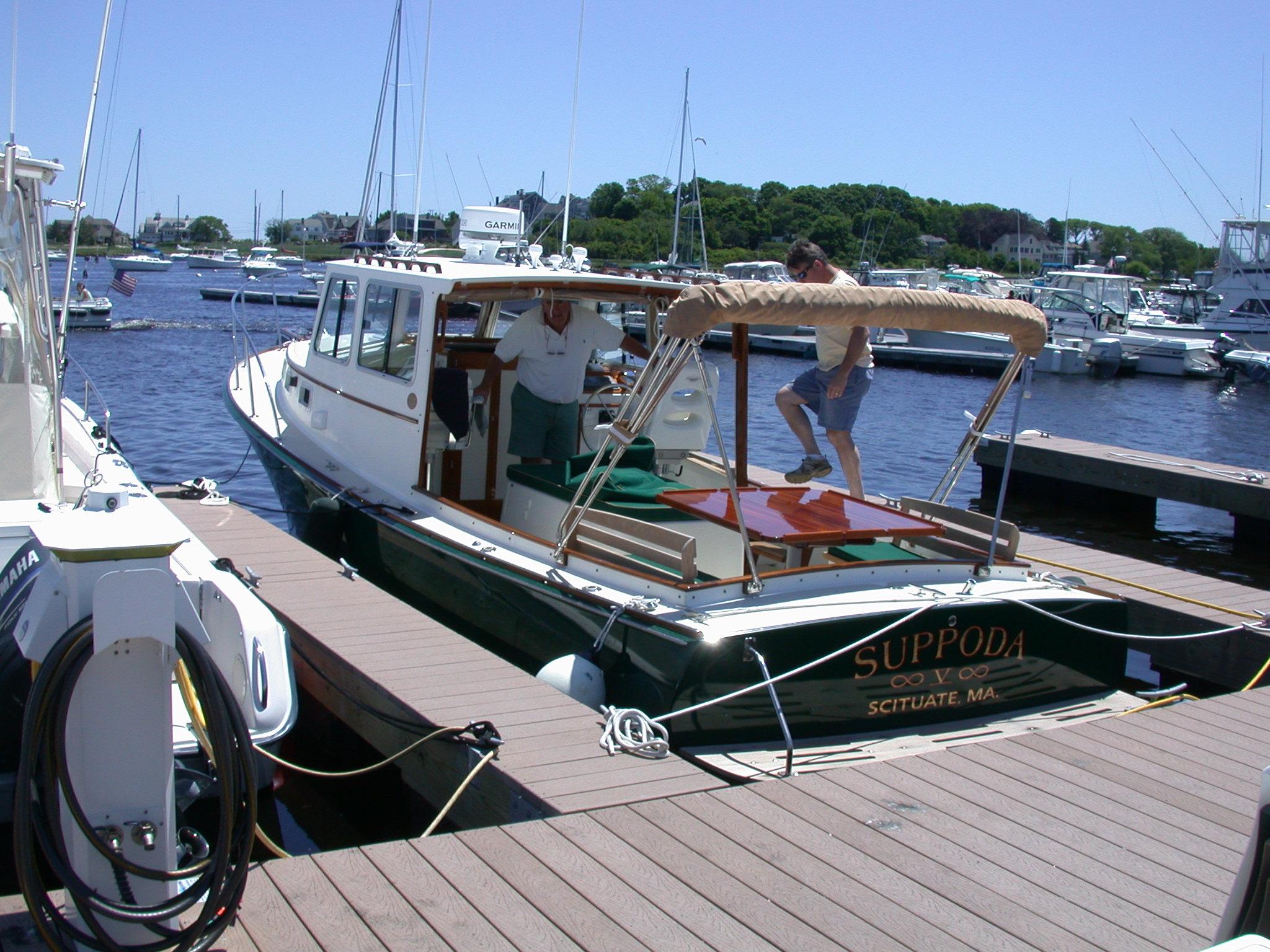 Southport Island Marine Hull 9