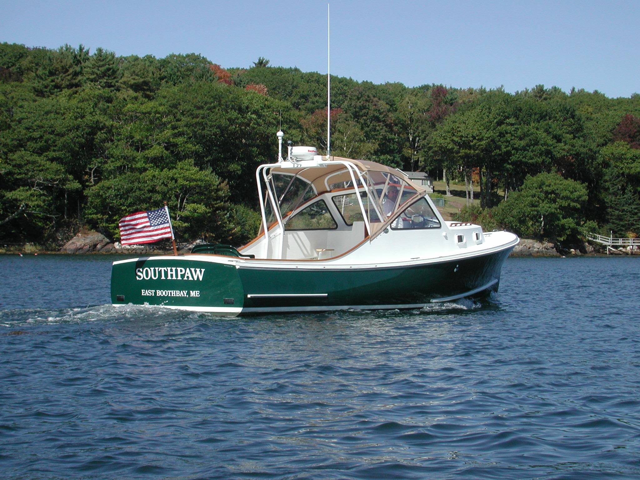 Southport Island Marine Hull 8