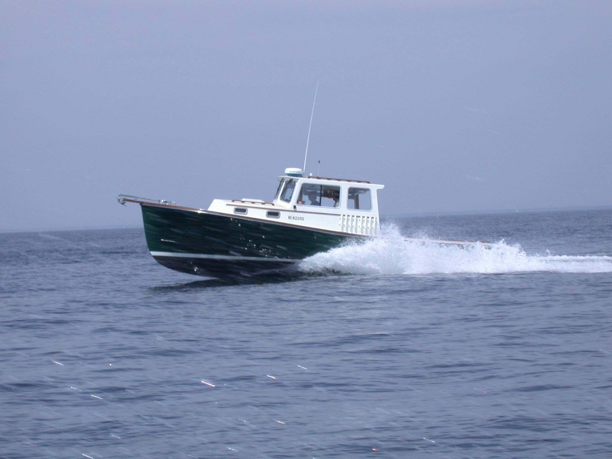 Southport Island Marine Hull 11