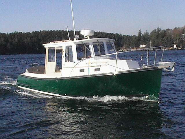 Southport Island Marine Hull 12