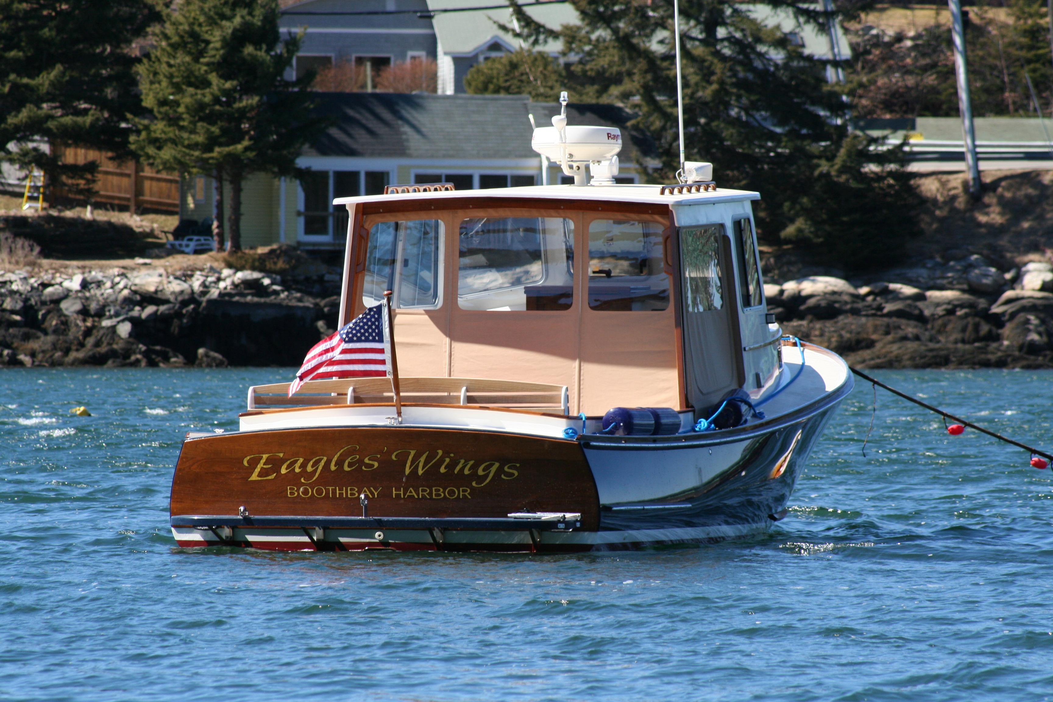 Southport Island Marine Hull 16