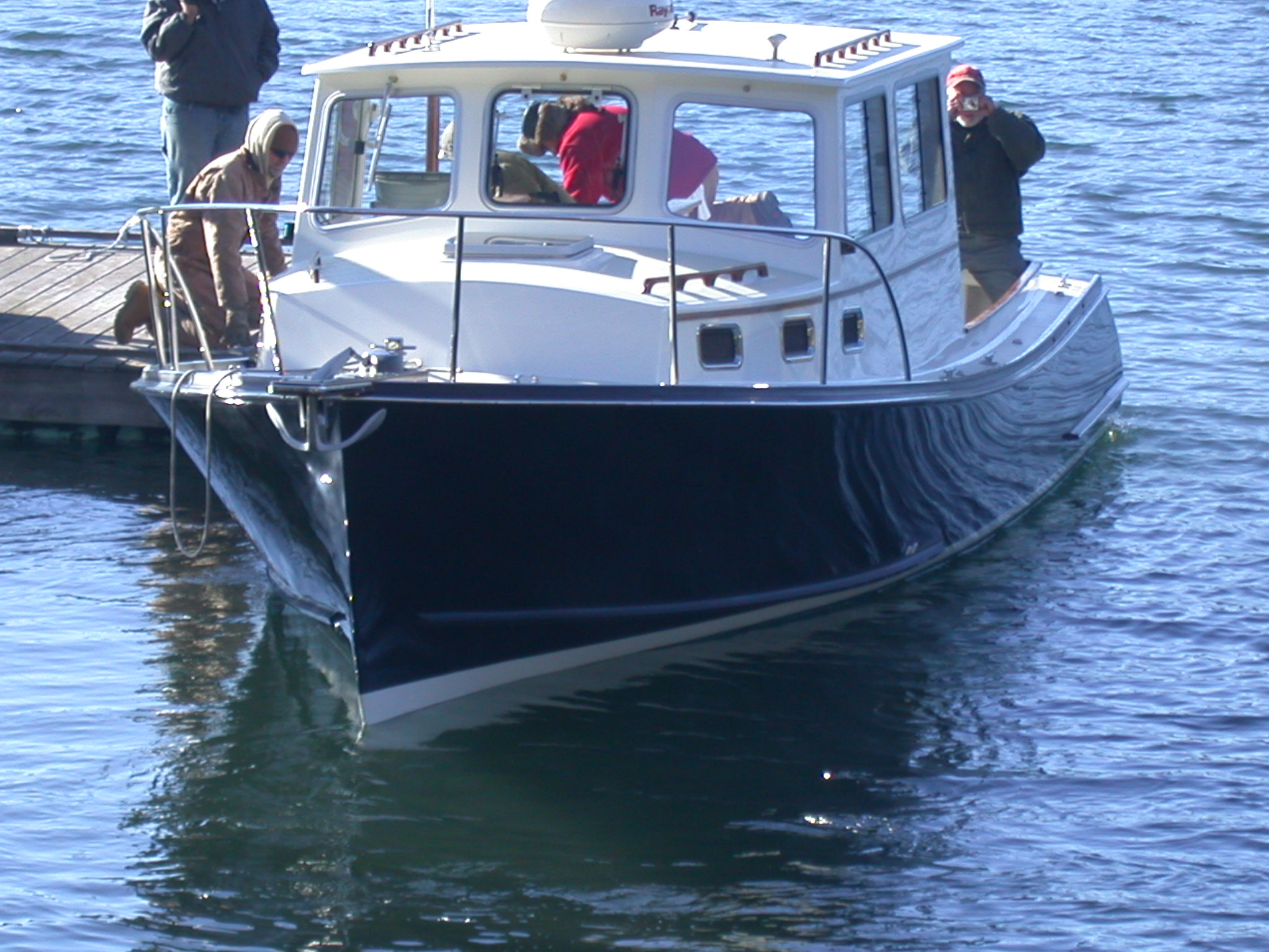 Southport Island Marine Hull 15