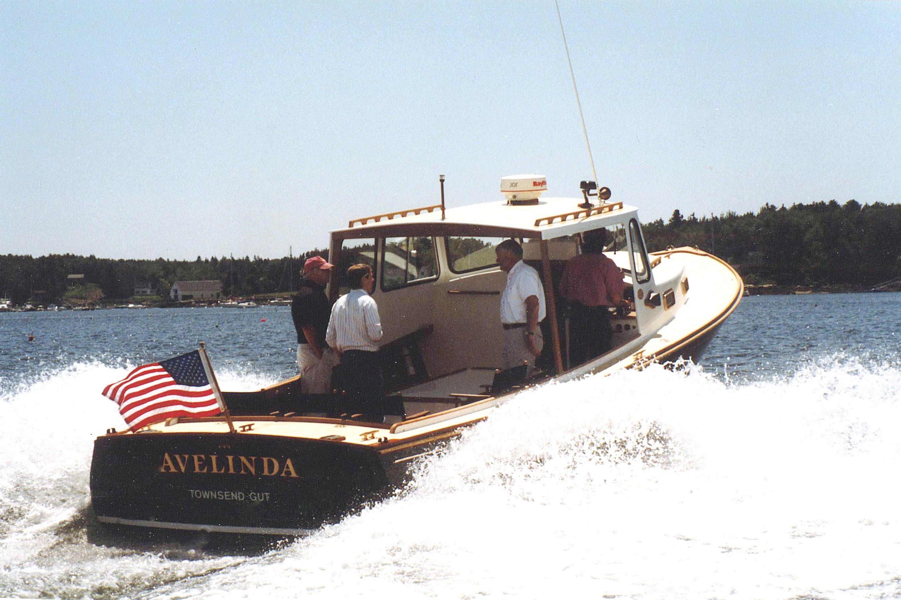 Southport Island Marine Hull 2