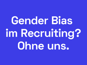 Algorithmen bei der Personalauswahl - wie Gender Bias verhindert werden kann.