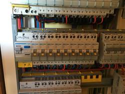 Déplacement de tableau électrique