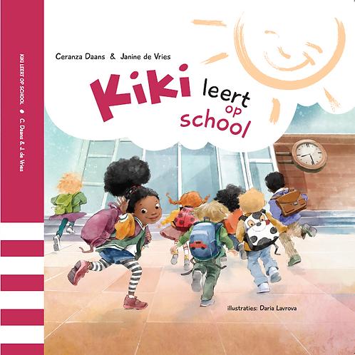 Kinderboek 'Kiki leert op school'