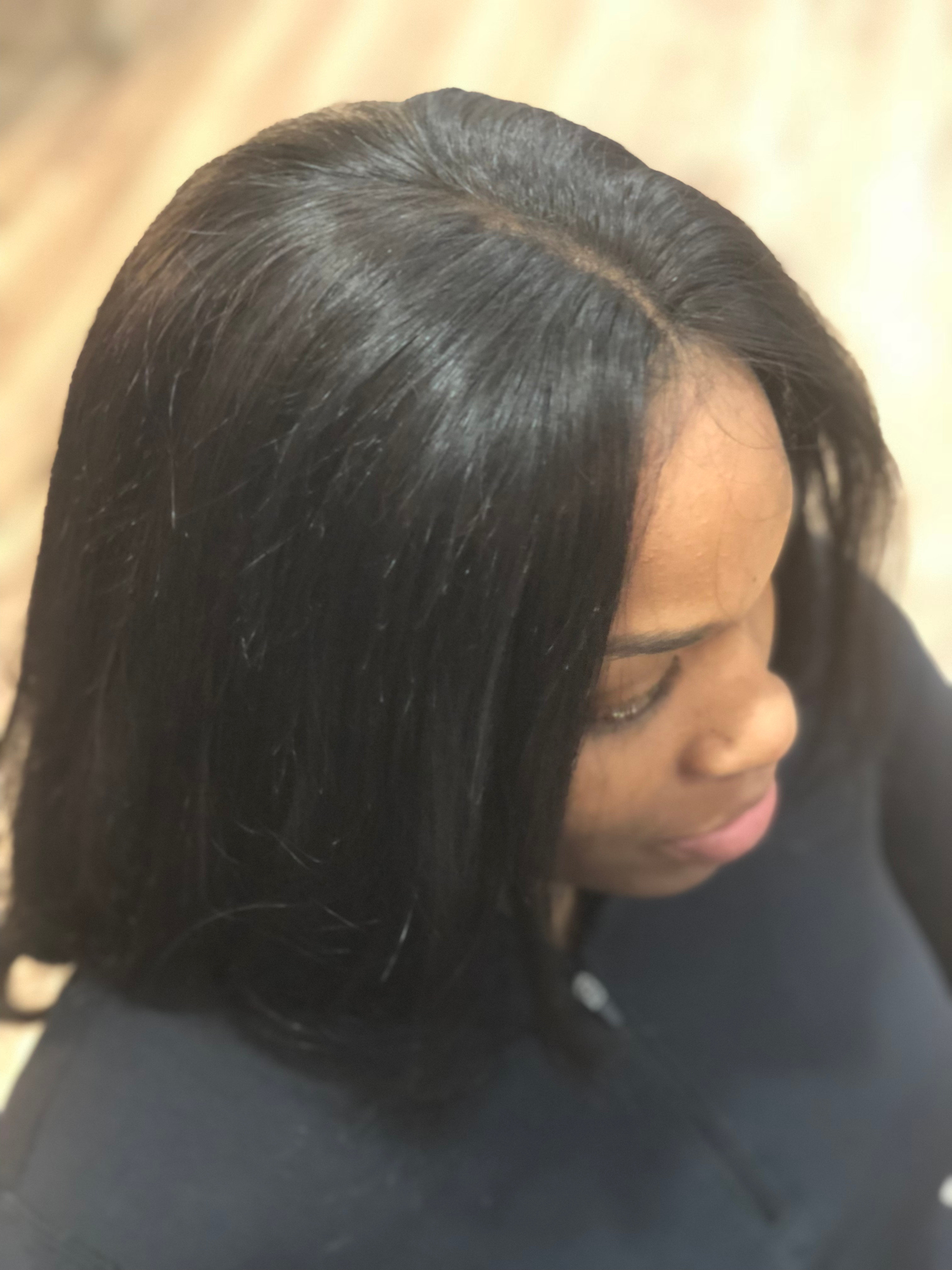 Full Sew-In with Lace Closure