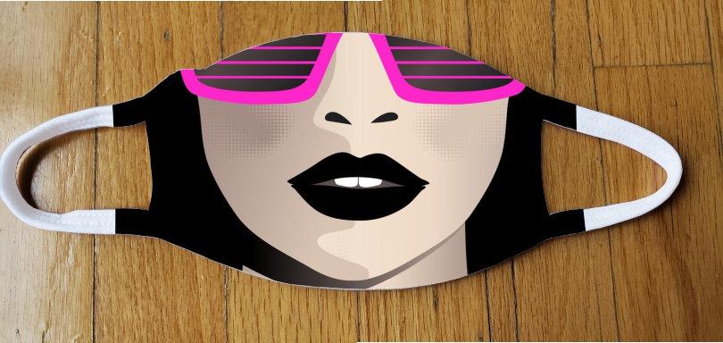Neon Black Fashion Cover